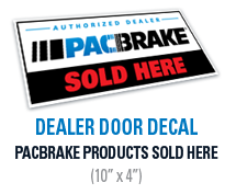 Authorized Dealer Door Decal
