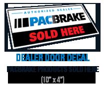 Authorized Dealer Door Decal
